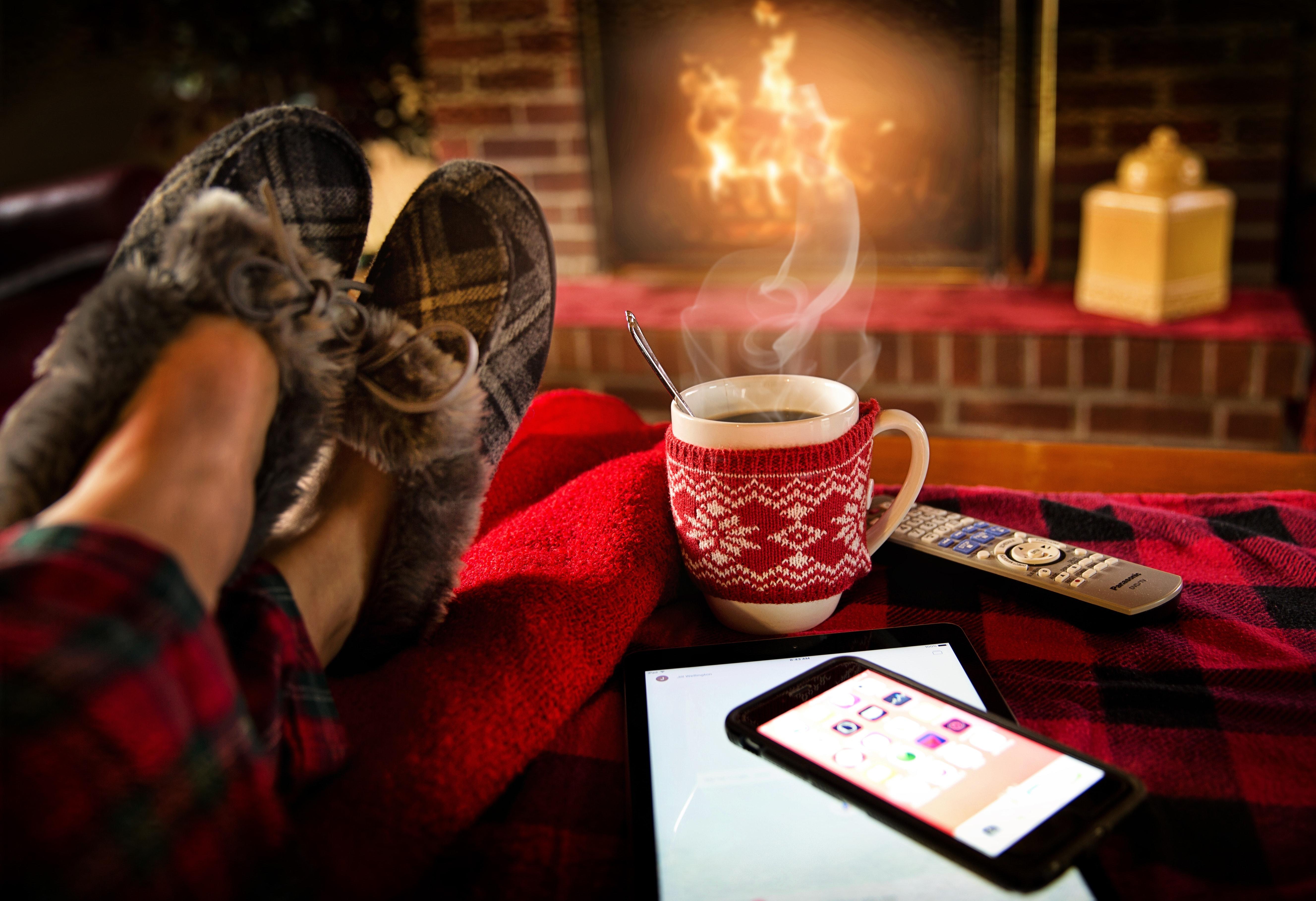 Warm Inside Fireplace